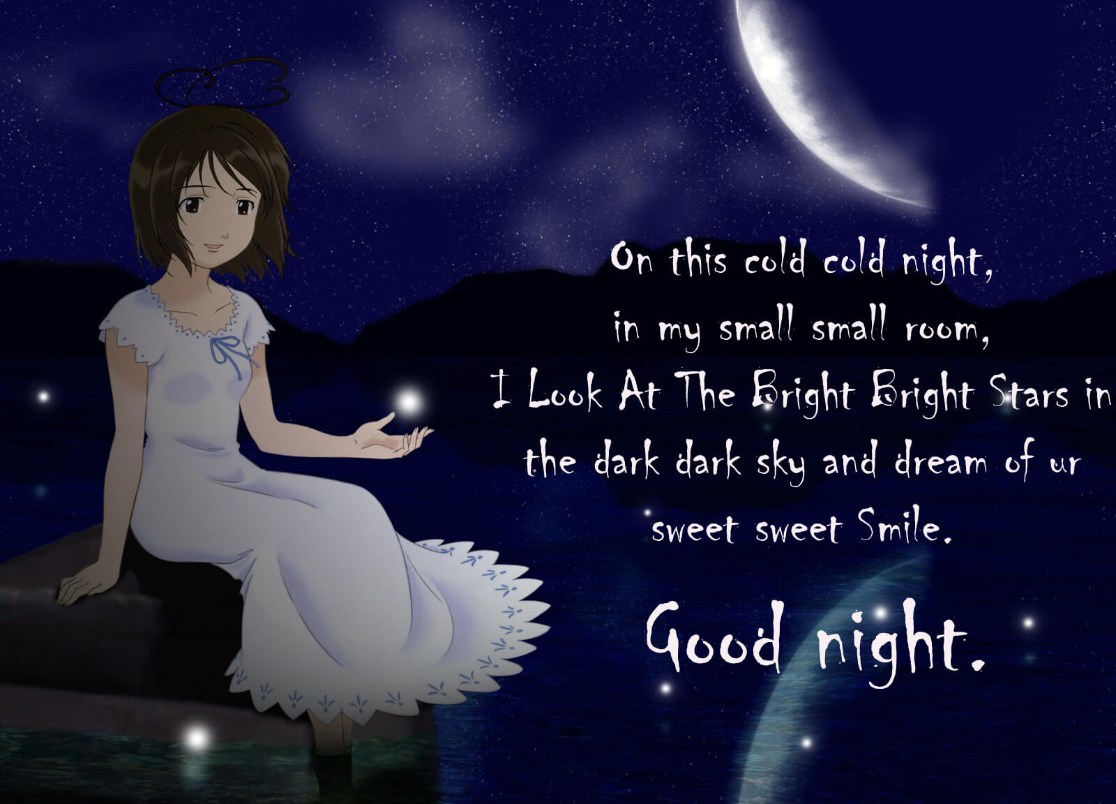 good night as a greeting